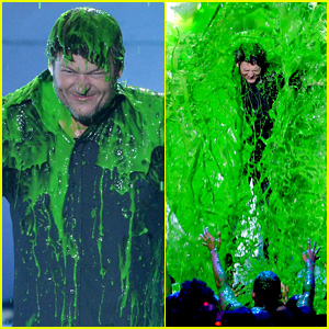Blake Shelton Gets Slimed on Kids' Choice Awards 2016 - Watch Now!