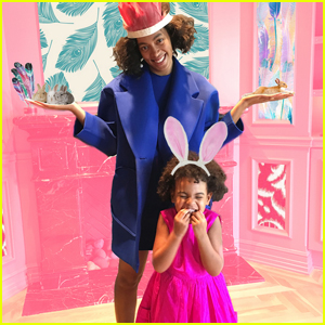 Beyonce Shares Cute Easter Photos With Blue Ivy!