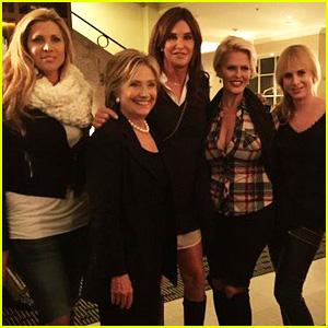 Caitlyn Jenner Meets Hillary Clinton After Criticizing Her Politics