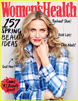 Cameron Diaz Gives Advice About Fertility & Menopause in 'Women's Health'