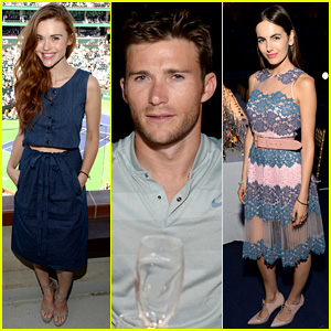 Holland roden scott eastwood amp camilla belle take in tennis with