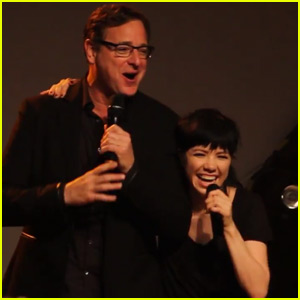 Carly Rae Jepsen Performs 'Fuller House' Theme Song With Bob Saget