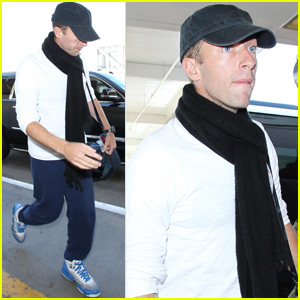 Chris Martin Steps Out After Signing Divorce Papers