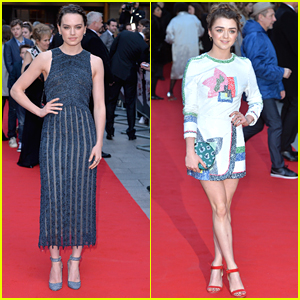 Daisy Ridley Dances Her Way To Jameson Empire Awards 2016 with Maisie Williams