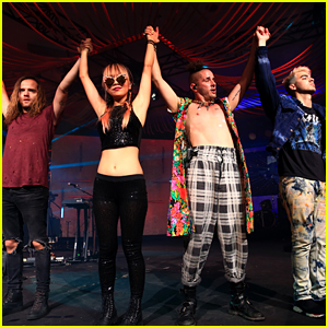 DNCE Performs at 'Music Is Universal' Showcase During SXSW