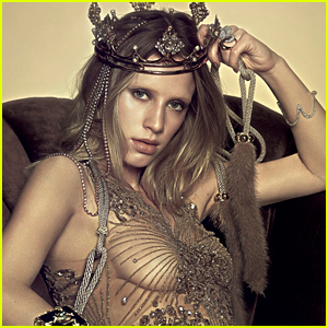 Dylan Penn Takes the Crown in 'Vogue Brazil' Photo Shoot