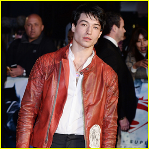 Ezra Miller Looks Like He Bulked Up for 'Batman v Superman'