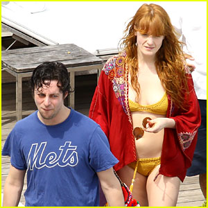 Florence Welch Bares Her Bikini Body Alongside Felix White!