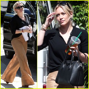 Hilary Duff's Son Luca Puts Out Fires in the Neighborhood