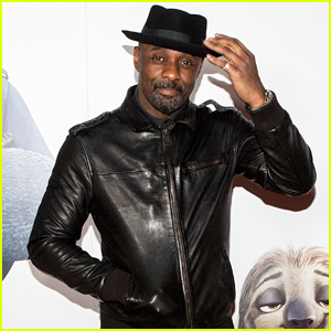 Idris Elba Takes His Movie 'Zootopia' to London