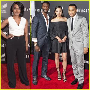 John Legend & Angela Bassett Help Premiere 'Underground' - Watch Trailer Here!