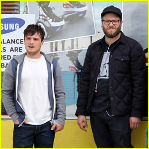 Seth Rogen & Josh Hutcherson Start Filming 'Future Man' Series