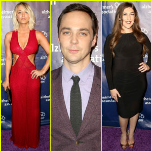 Kaley Cuoco & Big Bang Cast Support Alzheimer's Association