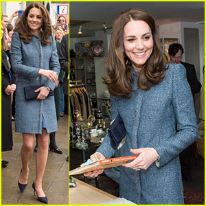 Kate Middleton Officially Opens Charity Shops in London