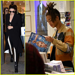 Kendall Jenner & Hadid Sisters Shop With Jaden Smith After Fashion Week