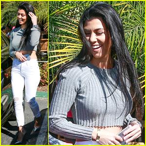Kourtney Kardashian Reunited With Adrienne Bailon This Weekend