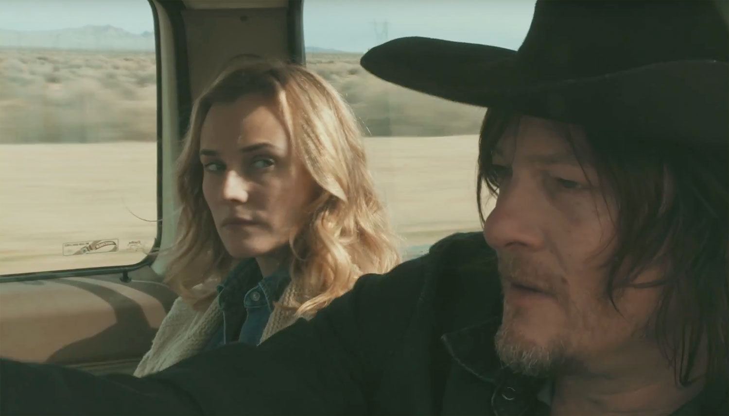 Diane Kruger & Norman Reedus Fall in Love in 'Sky' Trailer ...