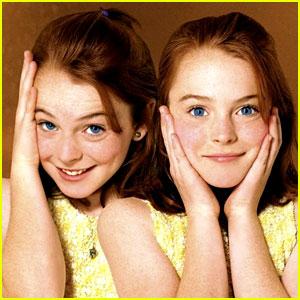 Lindsay Lohan Recreates 'Parent Trap' Scene on Dubsmash!
