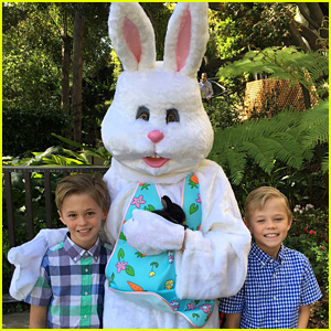 Matt Bomer Shares Cute Photo of Kids on Easter!