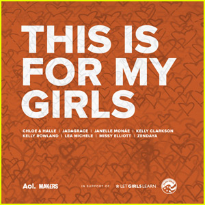 Kelly Clarkson, Lea Michele & More Team Up For Michelle Obama's 'This Is For My Girls'