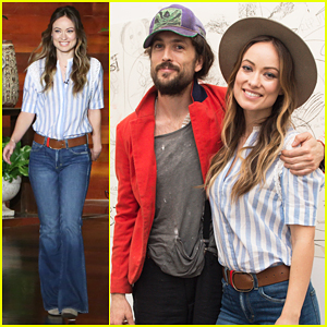 Olivia Wilde Celebrates Birthday On 'Ellen', Talks Son Otis Obsession with Beyoncé!