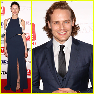 'Outlander' Stars Caitriona Balfe & Sam Heughan Reunite Ahead Of Season 2 Premiere!