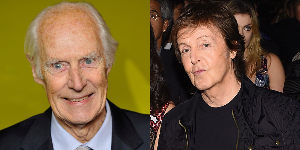 Paul McCartney Mourns Beatles Producer George Martins Death In Poignant Note