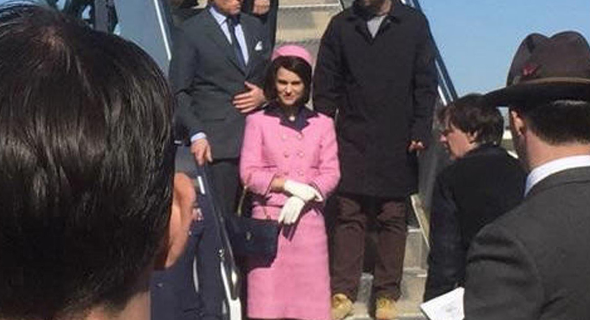 Natalie Portman Channels Jackie Kennedy to Film 'Jackie
