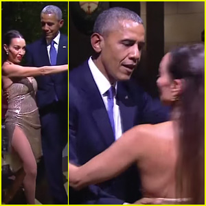President Barack Obama Dances the Tango in Argentina - Watch Now!