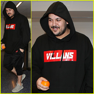 Rob Kardashian Emerges After Clarifying Blac Chyna Split Rumors