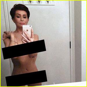 Sharon Osbourne Posts NSFW Pic Inspired by Kim Kardashian