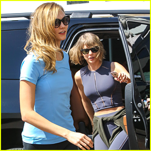 Karlie Kloss & Taylor Swift Grab Breakfast Together After Weekend Workout
