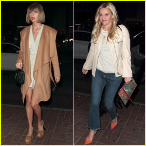 Taylor Swift & Reese Witherspoon Hang Out in West Hollywood