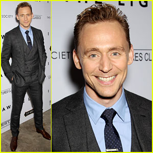 Tom Hiddleston's Smile Is So Infectious at 'I Saw the Light' NYC Screening!