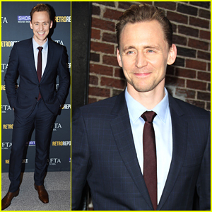 Tom Hiddleston Sings 'I Saw The Light' With Stephen Colbert!