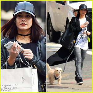 Vanessa Hudgens Takes Break From 'Powerless' For Some Shopping