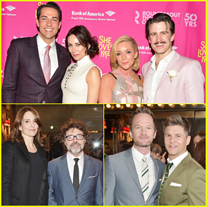 Zachary Levi & Laura Benanti Get Star-Studded Support At 'She Loves Me' Broadway Opening Night!