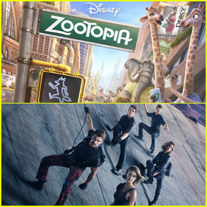 'Zootopia' Beats Out 'Allegiant' at Weekend Box Office