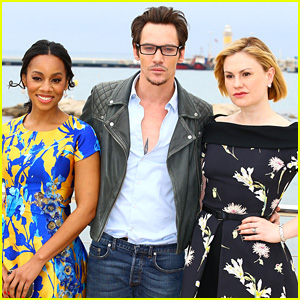 Anna Paquin, Jonathan Rhys Meyers, & Anika Noni Rose Promote 'Roots' at MIPTV