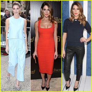 Ashley Greene Makes the 'Rogue' Promo Rounds in NYC