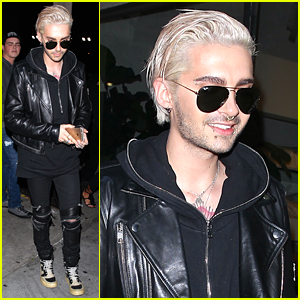 Tokio Hotel's Bill Kaulitz Steps Out with Freshly Bleached Hair