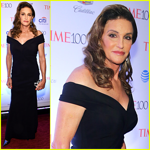 Caitlyn Jenner Glams Up for Time 100 Red Carpet Event!