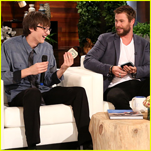 Chris Hemsworth Meets Teenager Who Found His Missing Wallet, Gifts Him the Money Inside!