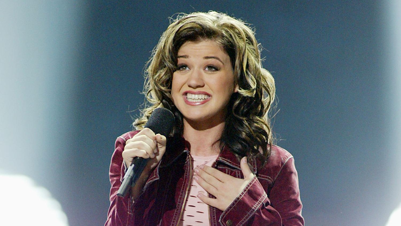 Kelly clarkson on american idol