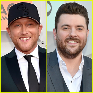 Cole Swindell & Chris Young Walk ACM Awards 2016 Red Carpet