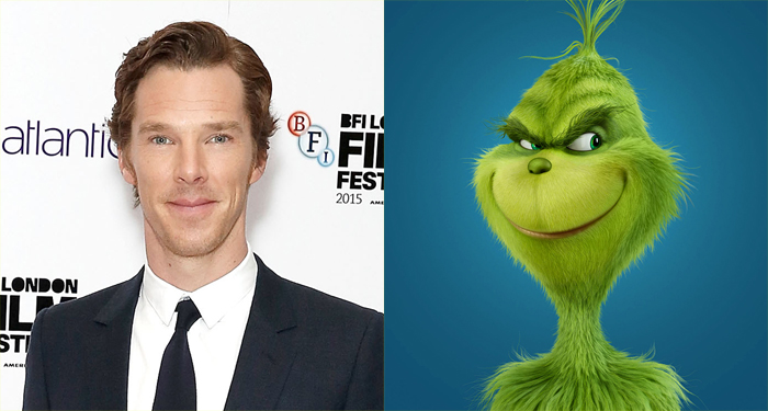 Benedict Cumberbatch to Voice 'Grinch' in Newly Imagined Movie ...