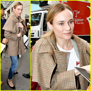 Diane Kruger Says There's No Better Place Than Paris!