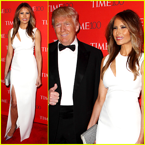 Donald Trump & Wife Melania Attend Time 100 Gala on Super Tuesday