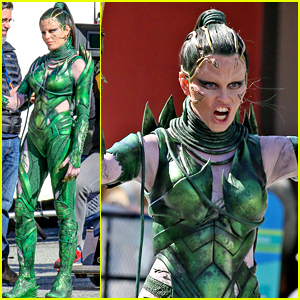 Elizabeth Banks Gets Into Action as Rita Repulsa on 'Power Rangers' Set!