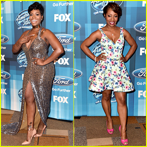 Fantasia & LaToya London Reunite at 'American Idol' Finale